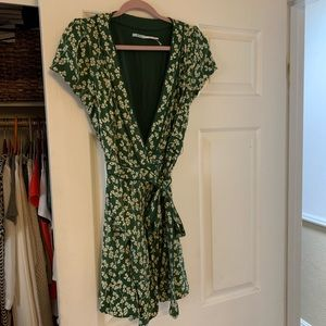 Urban Outfitters Dresses - ❤️donating soon❤️Green Urban Outfitters wrap dress